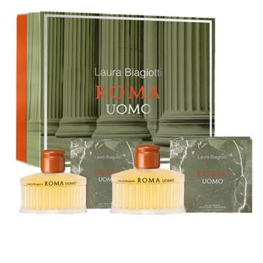 Laura Biagiotti Roma coffret Uomo Edt 125 ml + 75 ml After Shave