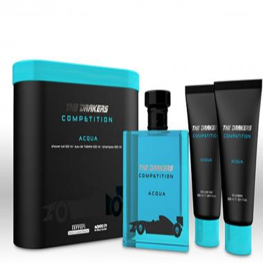 Drakers by Ferrari Competition Acqua Tin edt 100ml + S Gel 100ml + ASB 100ml