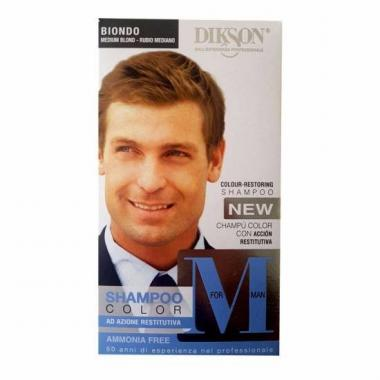 Dikson For Men Shampoo Color ( Biondo )