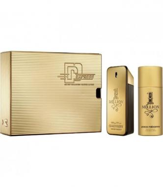 Paco Rabanne 1 Million Coffret Edt 100 ml + Deo spray 150 ml