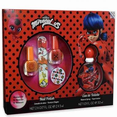 Miraculous Coffret Kit Manicure + Edt 30 ml
