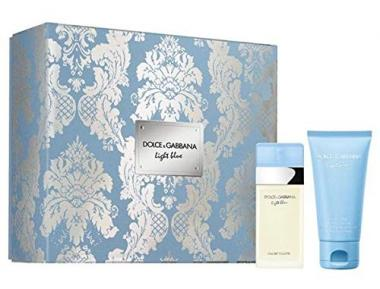 D&G Lith Blue Coffret Edt 25 ml + Body Lotion 50 ml Donna