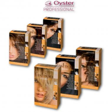 Oyster Kit Fashion Color Elite 8/7 ( Caramello ) 50ml + 50ml