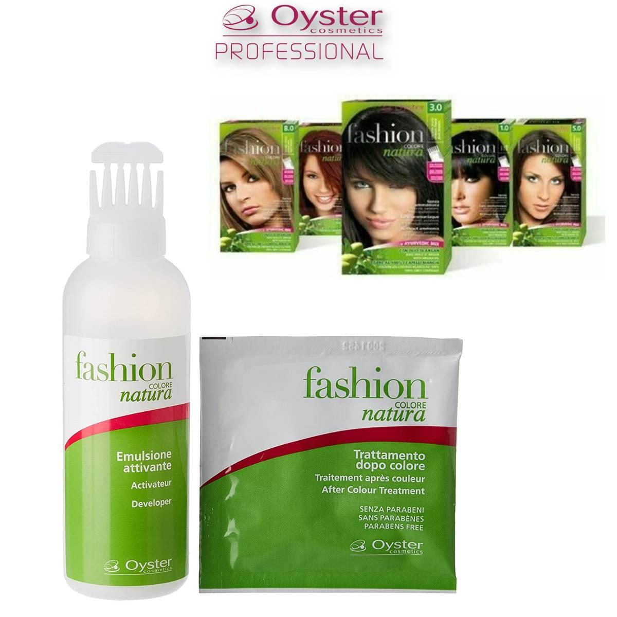 Oyster Kit Fashion Natura 6/6 ( Rosso Scuro ) 50ml + 50ml