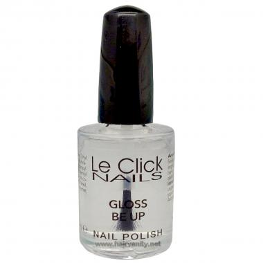 Le Click Gloss Be Up 15 ml ( Smalto Trasparente Sigillante )