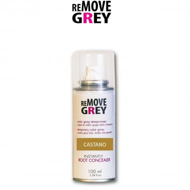 Remove Grey Color Spray Castano 100 ml