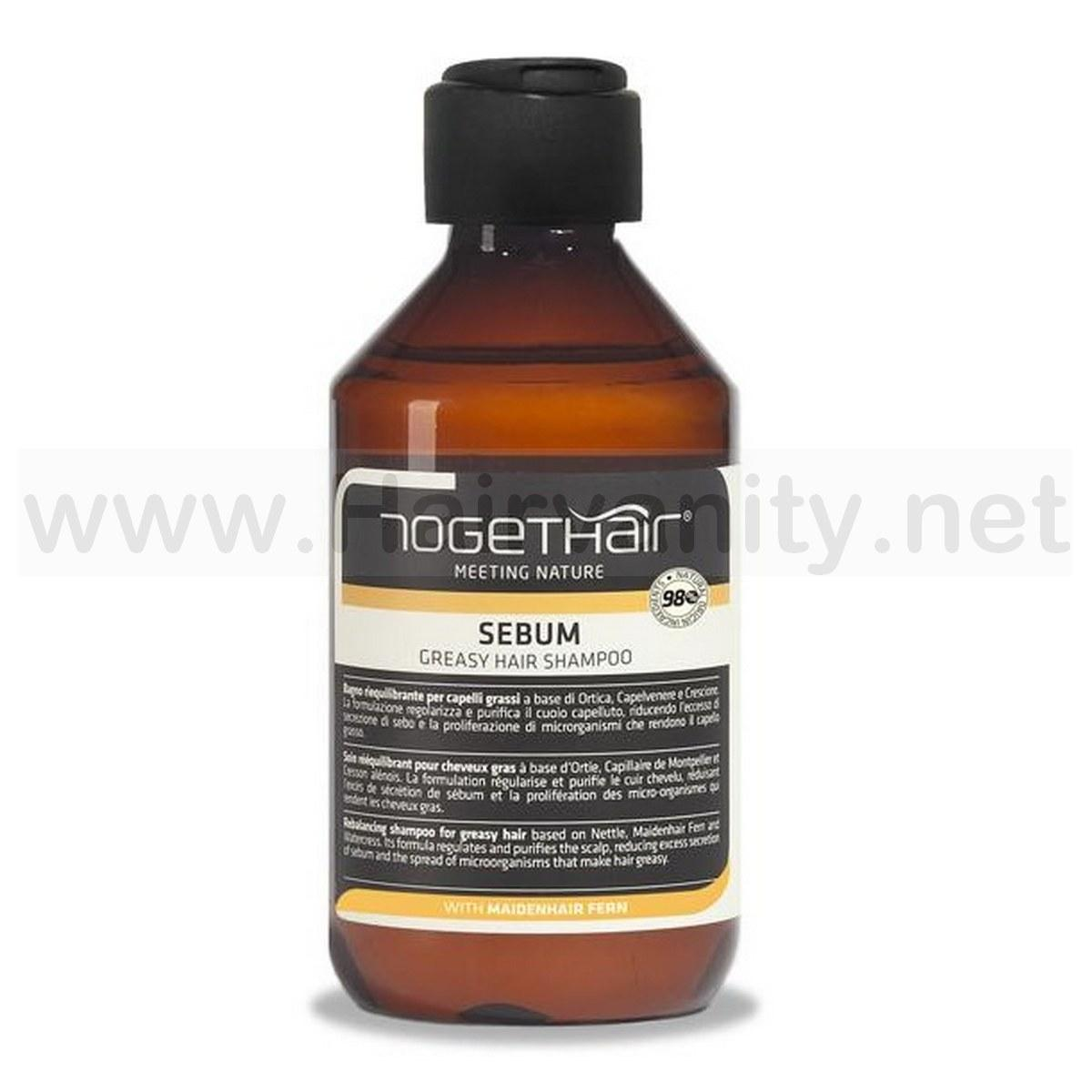 Togethair Sebum Shampoo Riequilibrante 250 ml