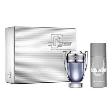 Paco Rabanne Invictus Coffret Edt 100 ml + Deo Spray 150 ml