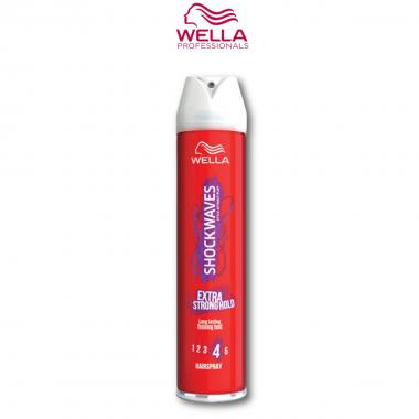Wella Lacca Extra strong 400 ml ( Shockwaves )