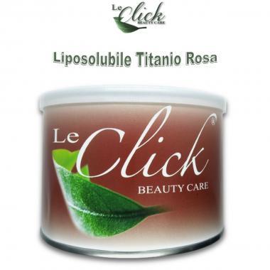 Rullo Ceretta Ricarica Titanio Rosa Delicata, Liposolubile