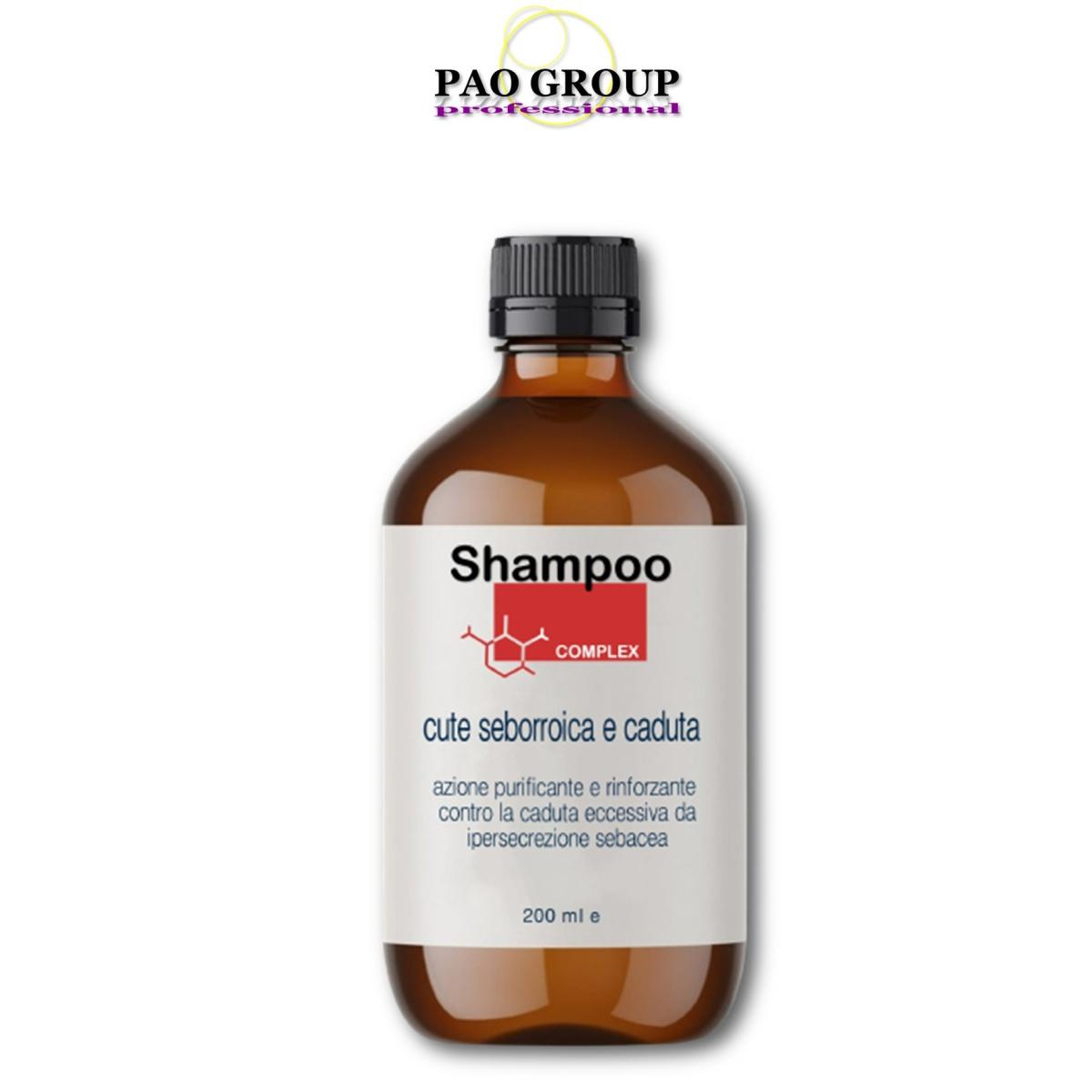 Pao Group Shampoo Complex Cute Seborroica e Caduta 200 ml